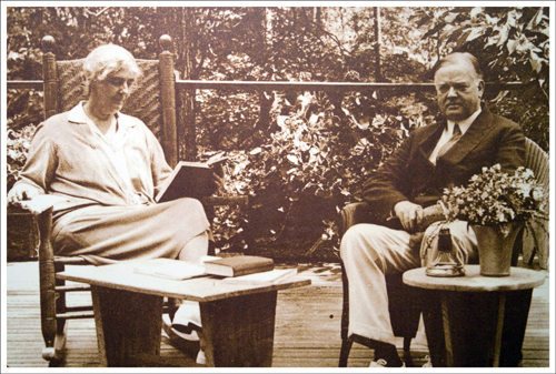 President and Mrs. Hoover