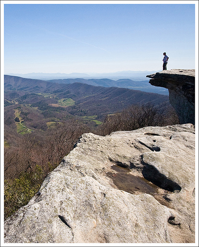 This View of McAfee is an Appalachian Trail Icon