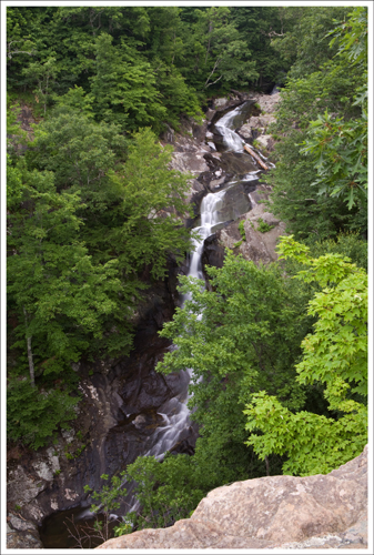 Upper Falls of White Oak Canyon