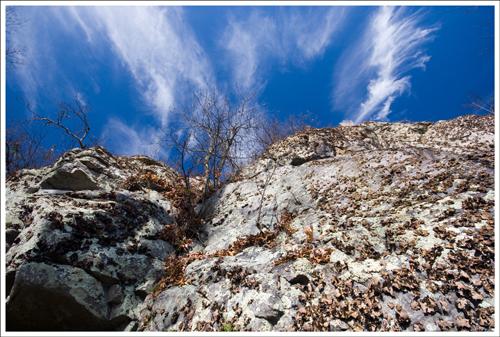 Cliffs along the Appalachian Trail