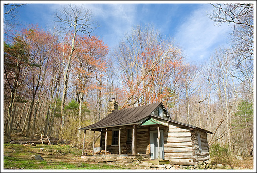 The Corbin Cabin Sits Alongside The Hughes River In What Used To Be Known  As Freestate Hollow.