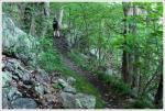 Christine on the Trail