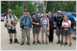Backpacking Group, Post-Hike