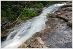Water flowing along Cascade Brook