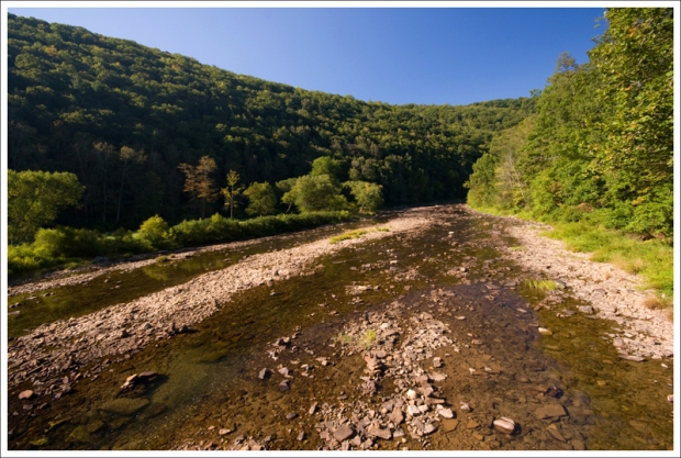 Low Water Levels on the Greenbrier River