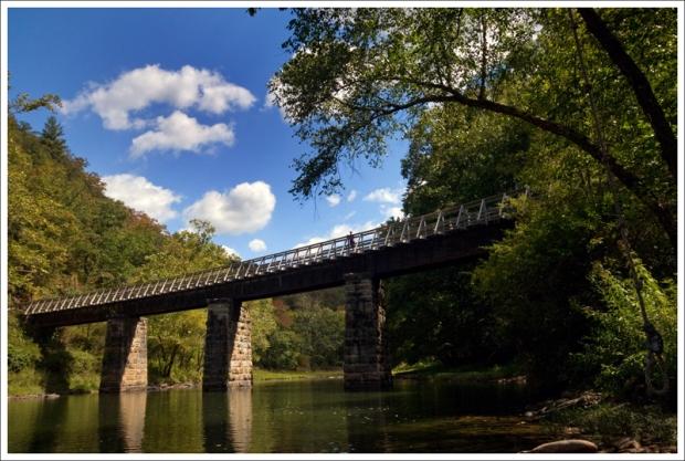 A View of Sharps Bridge