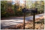 Gap Creek Sign Trail Sign