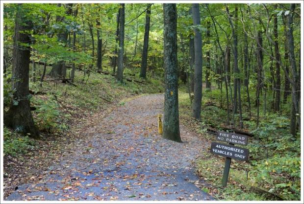 Lands Run Fire Road