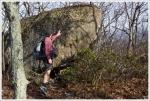 Jason checks out the lichen