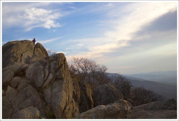 Jason on marys rock