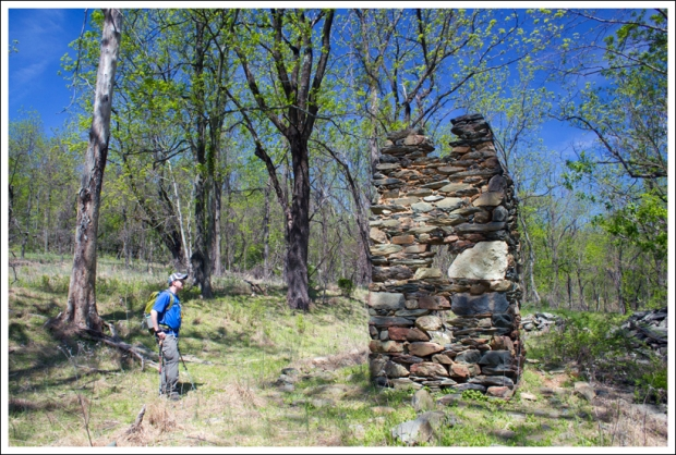 The Chimney at the Snowden Ruins