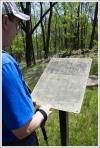 Snowden Ruins Sign