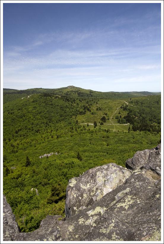 Big Pinnacle overlooking Massie Gap