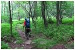 Adam hiking