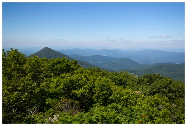 A View of Sharp Top from Flat Top