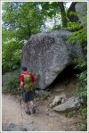 Giant Boulders Along the Trail