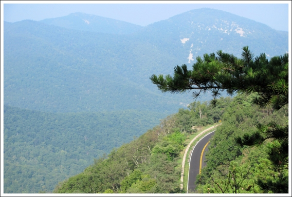 View of Skyline Drive