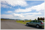Parking at Beahms Gap