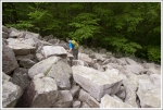 Adam Climbing Down