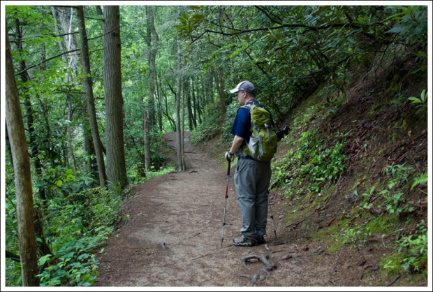 Adam on the Abrams Falls Trail