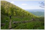 Hiking Past Hogback