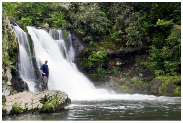 Adam at Abrams Falls