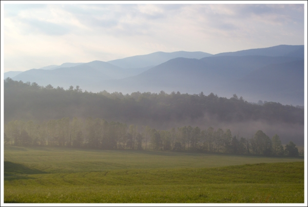 Mountain View in Cades Cove
