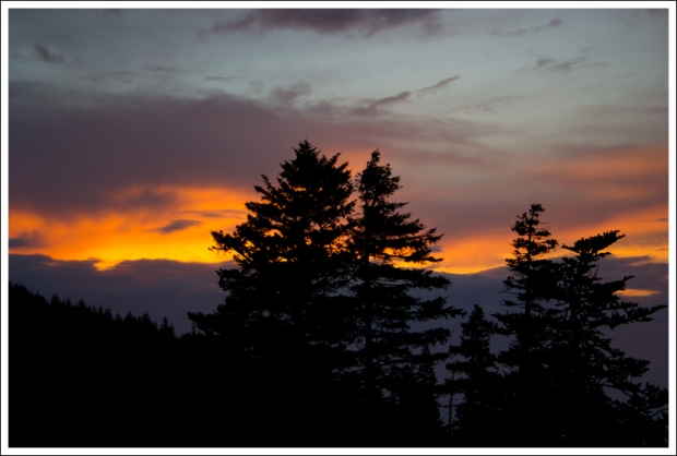 Sunset on LeConte