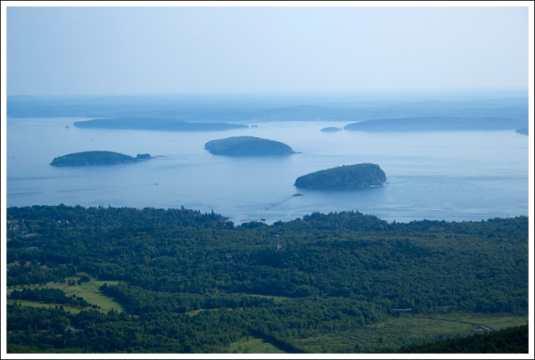 Islands as Seen from the North Ridge Trail