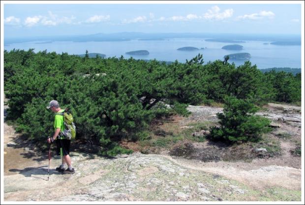Views on Climb Down Dorr