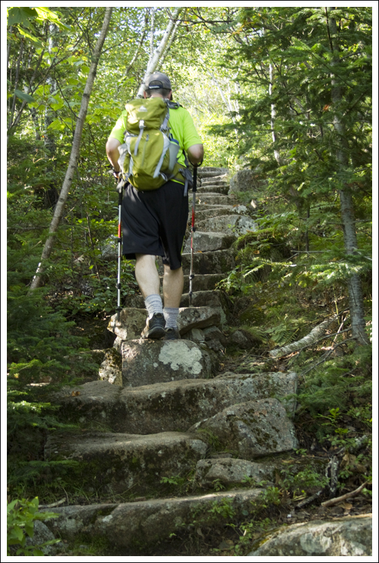 cadillac mountain north ridge – dorr mountain loop – acadia national