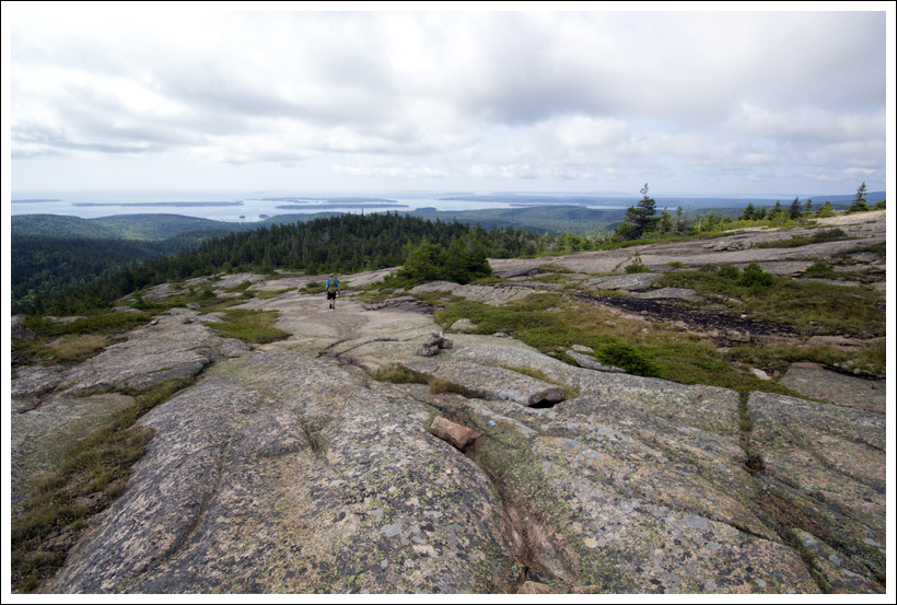 acadia national park trail guide
