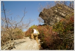 Climbing the Rough Ridge Trail