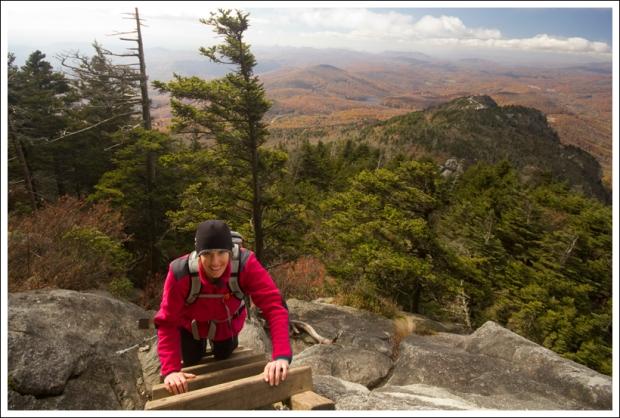 Christine Climbs a Ladder