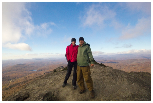 Top of MacRae Peak