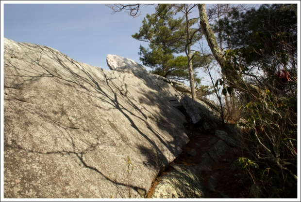 Rocks at Grubbs Overlook