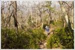 Steep Climb on High Knob Spur Trail