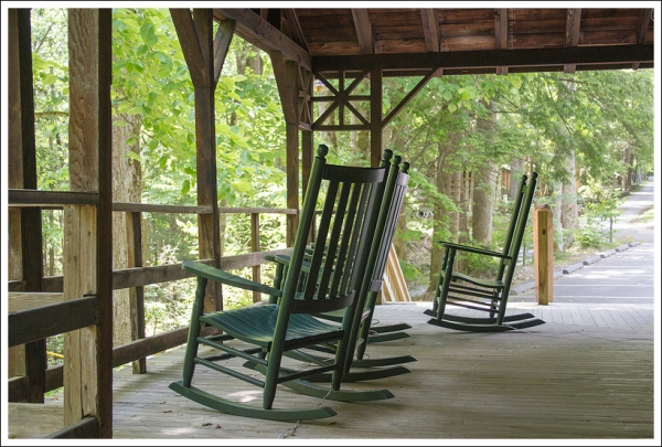 Appalachian Club Porch