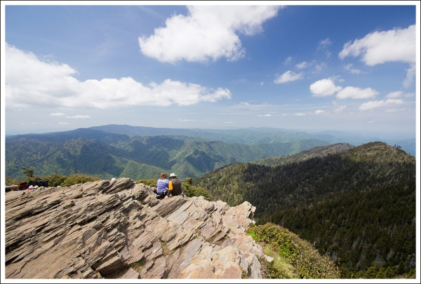View from LeConte Summit