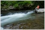 Christine on Deep Creek