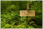 Kephart Prong Trail Sign