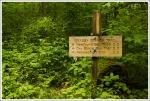 Kephart Prong Trail Sign