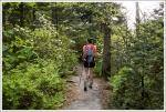 Christine Hikes the Grandfather Trail