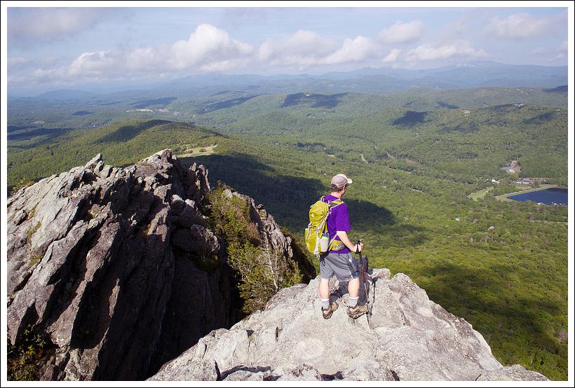 Grandfather Mountain Calloway Peak Nc Virginia Trail