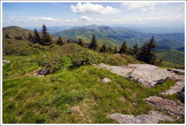Enjoying Grassy Ridge