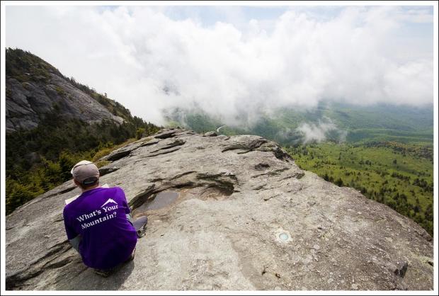 Adam on MacRae Peak