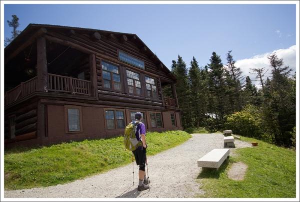 Back at the Ravine Lodge