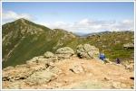 Looking Back Across the Ridge