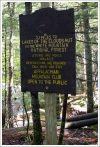 First Lake of Clouds Sign