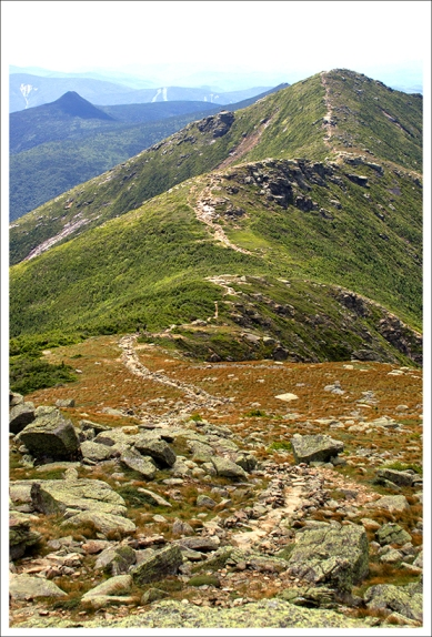 The Knife Edge of Franconia Ridge